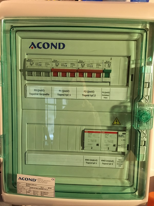Tepelné čerpadlo Acond
